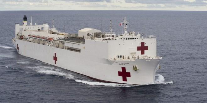 [Video] Mỹ điều tàu bệnh viện để giải quyết khủng hoảng vì dịch Covid-19