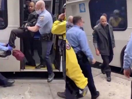 [Video] Mỹ: Bị bắt vì không đeo khẩu trang khi đi xe buýt bất chấp dịch