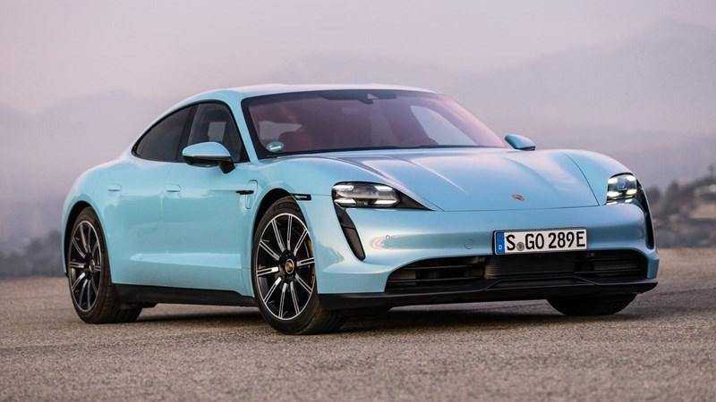 Porsche Taycan là mẫu xe đầu tiên trên thế giới sử dụng công nghệ sơn mới