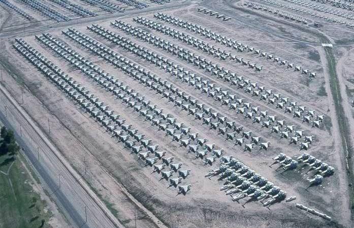 [Video] Nghĩa địa máy bay lớn nhất thế giới tại Mỹ