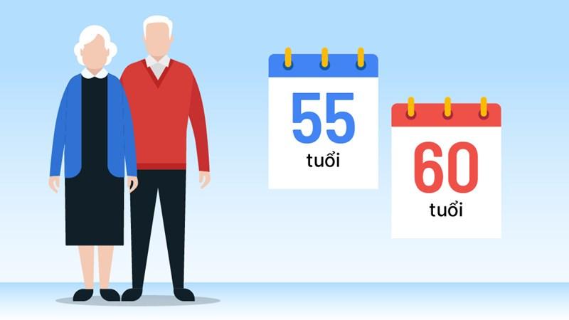 [Infographics] Lộ trình tuổi nghỉ hưu năm 2021-2035