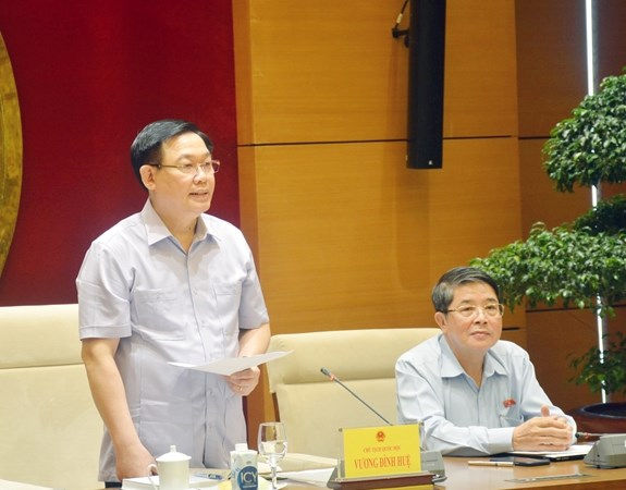 Chủ tịch Quốc hội Vương Đình Huệ: Chương trình xây dựng luật phải có tầm nhìn xa