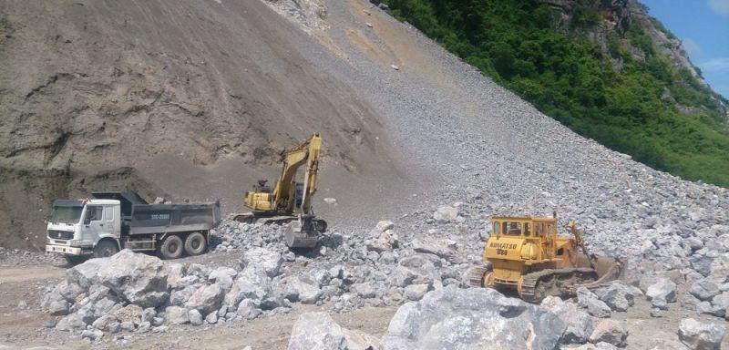 Tổng cục Hải quan gỡ vướng trong việc cấp giấy phép khai thác khoáng sản là đá vôi