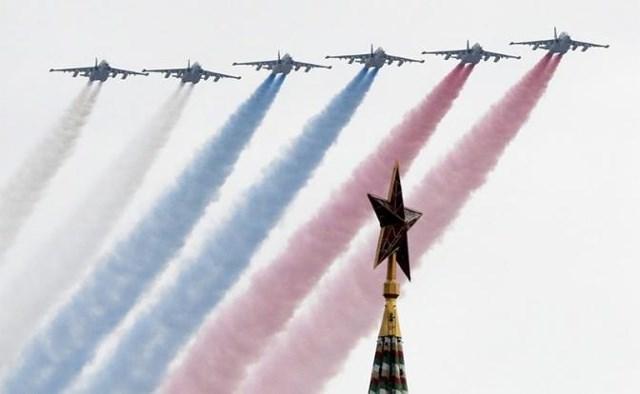 [Video] Không quân Nga tập luyện cho Lễ kỷ niệm ngày chiến thắng 9/5