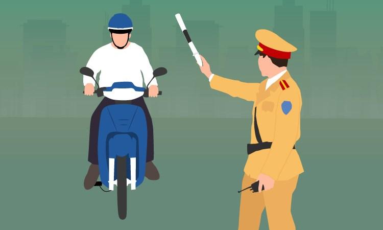 [Infographics] Khác biệt giữa các đợt kiểm tra của cảnh sát giao thông