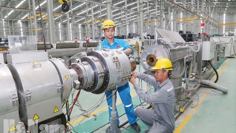 [Infographics] Chỉ số sản xuất công nghiệp 5 tháng tăng 9,4%