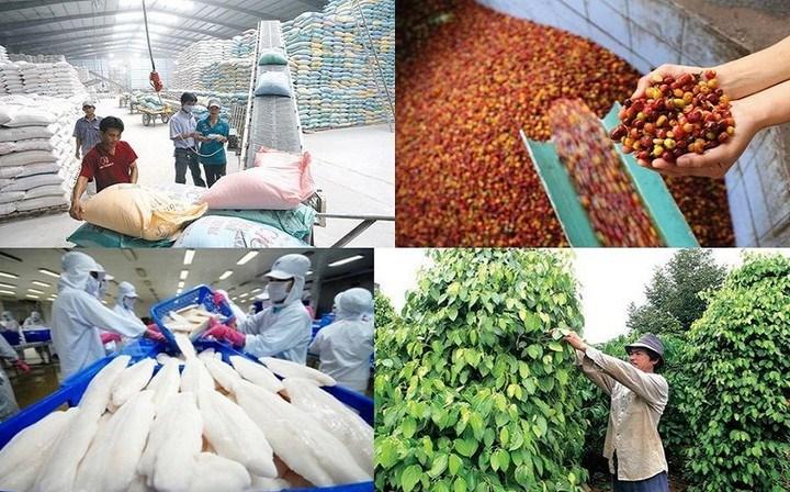 [Infographics] 5 tháng, nông-lâm-thủy sản xuất siêu gần 3,3 tỷ USD