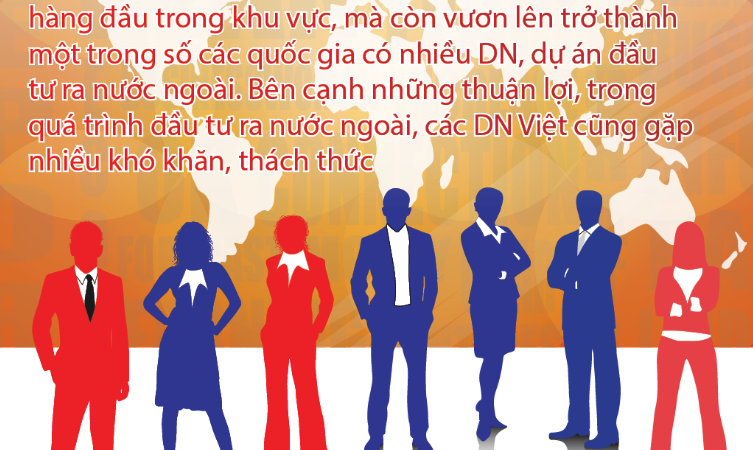 [Infographics] Doanh nghiệp Việt mạnh tay đầu tư ra nước ngoài