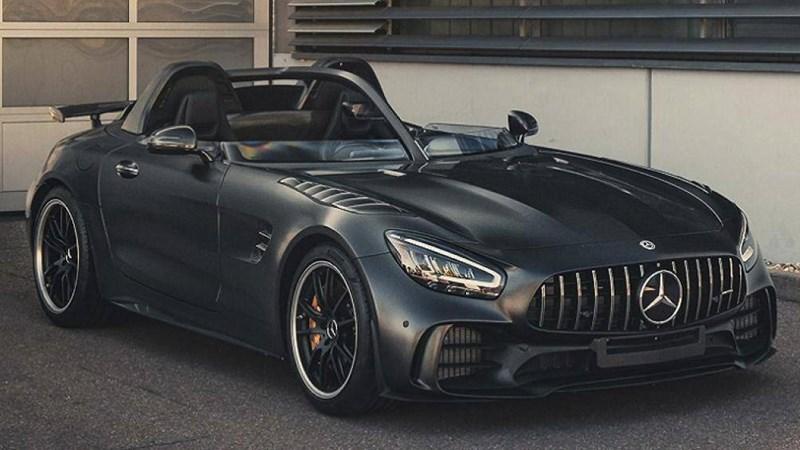 [Ảnh] Khám phá siêu xe Mercedes không có kính chắn gió