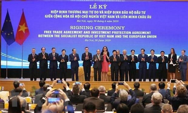 [Video] Kí kết EVFTA sẽ thúc đẩy kinh doanh ở Việt Nam