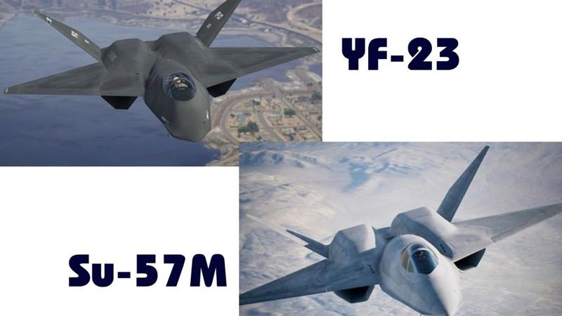 [Infographics] Sức mạnh tiêm kích YF-23 của Mỹ biệt danh