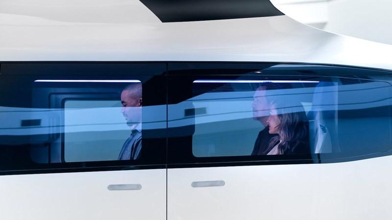 [Video] Nội thất taxi bay chở khách đầu tiên của Uber