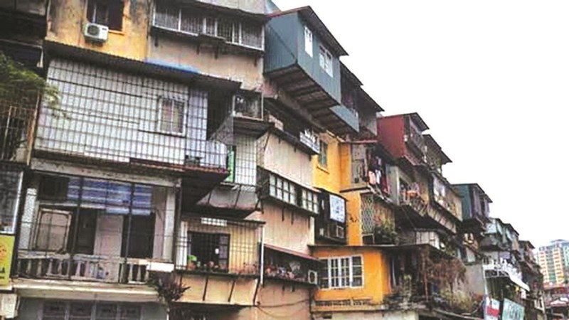 Cải tạo chung cư cũ: Bồi thường 1-2 lần diện tích căn hộ cũ