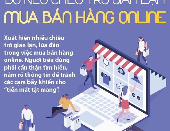 [Infographics] Đủ kiểu chiêu trò gian lận mua bán hàng online