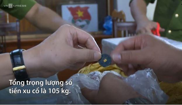 [Video] Thu giữ 105 kg tiền xu cổ ở Yên Bái đưa vào bảo tàng