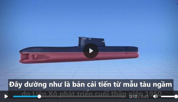 [Video] Tính năng tàu ngầm chiến lược mang tên lửa đạn đạo của Triều Tiên