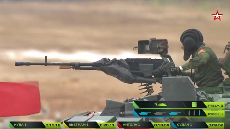 [Ảnh] Ngắm xe tăng T-72B3 của Việt Nam tại giải đấu Tank Biathlon 2019