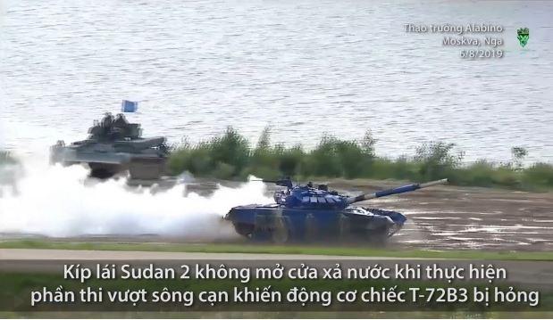 [Video] Sai lầm khiến Cuba, Sudan bị loại trong ngày đua xe tăng thứ hai tại Nga