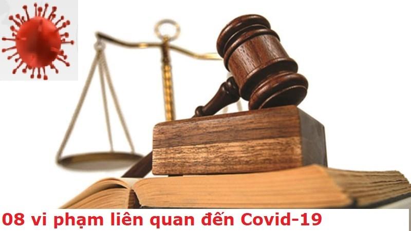 [Infographics] 8 vi phạm liên quan đến Covid-19 và mức phạt tiền cụ thể