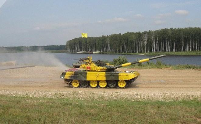 [Video] Nỗ lực bứt phá của đội Việt Nam trong vòng loại đua xe tăng ở Nga