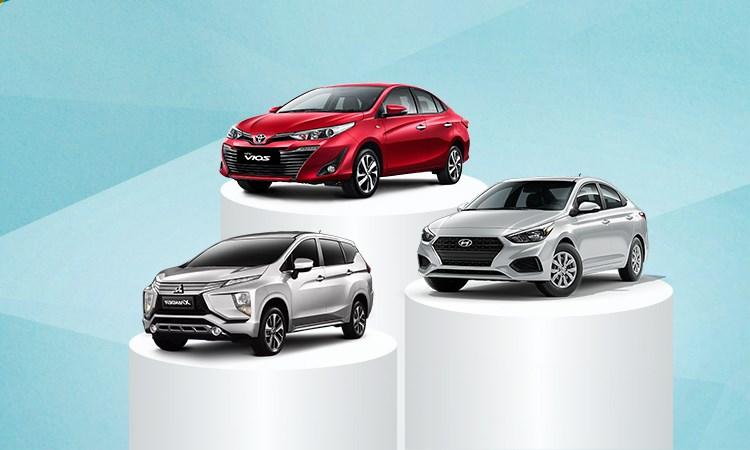 [Infographics] 10 ôtô bán chạy nhất tháng 7 - Vios lẻ loi, Fadil giữ đà tăng tốc
