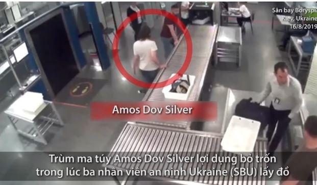 [Video] Trùm ma túy tẩu thoát trước mặt an ninh Ukraine