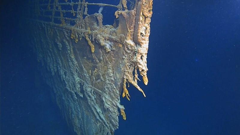 [Video] Hình ảnh thám hiểm xác tàu Titanic lần đầu sau 14 năm