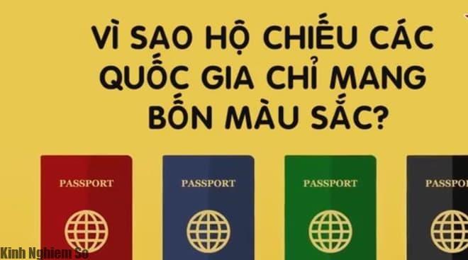 [Video] Vì sao hộ chiếu các quốc gia trên thế giới chỉ mang 4 màu sắc?