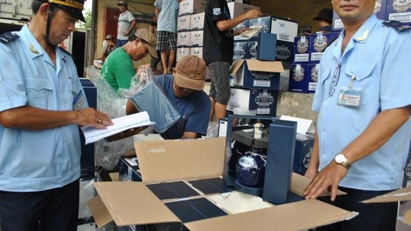 Thu ngân sách 6,825 tỷ đồng từ hoạt động chống buôn lậu