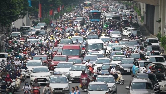 [Video] Nhiều tuyến đường Hà Nội kẹt cứng sau kỳ nghỉ lễ 2/9