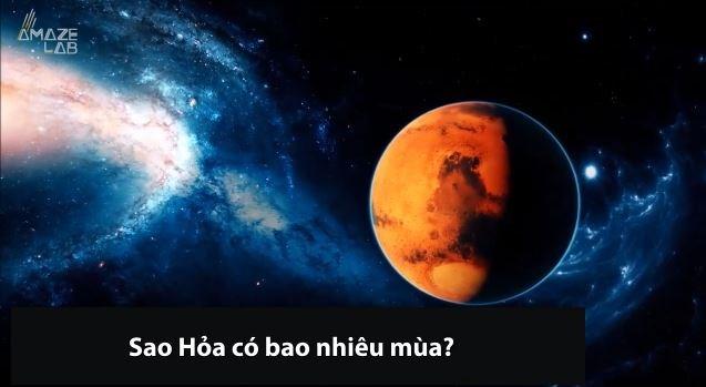 [Video] Lạ: Sao Hỏa có bao nhiêu mùa?