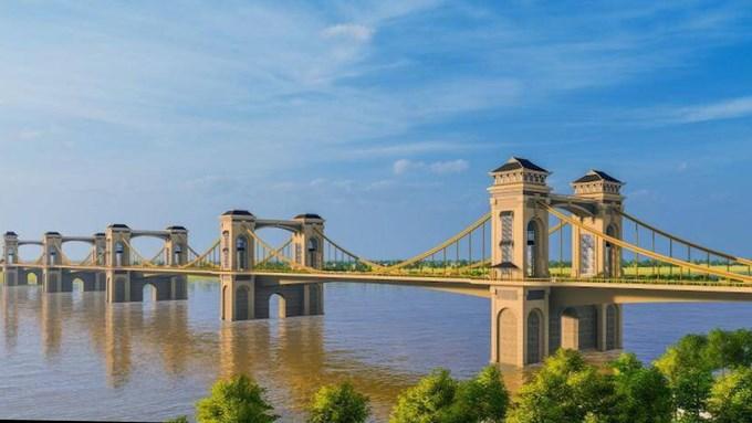 [Video] 5 cây cầu vượt sông Hồng sắp xây dựng