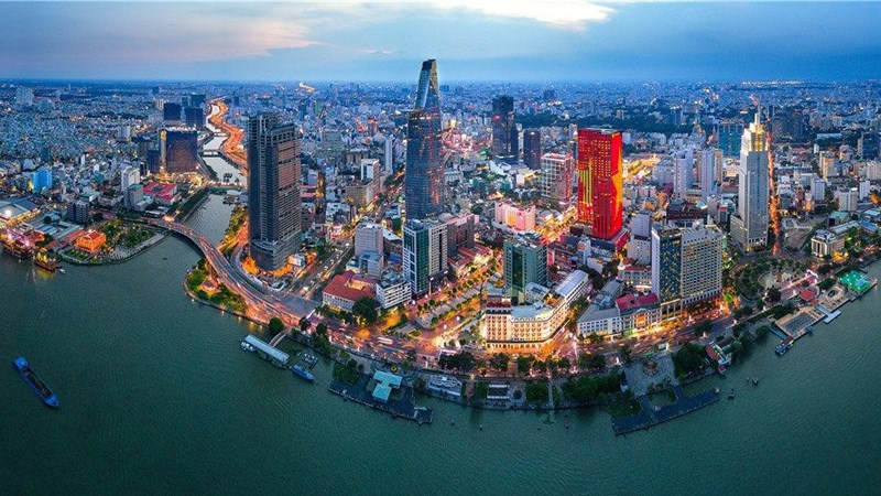 TP. Hồ Chí Minh sẽ là trung tâm tài chính và dịch vụ của khu vực Đông Nam Á