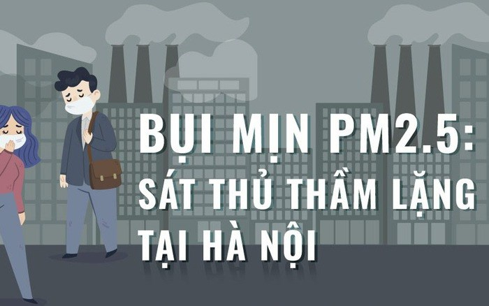 [Infographic] Bụi mịn PM 2.5 -