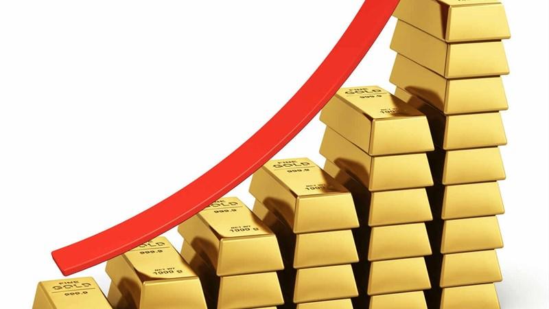 Lo ngại về suy thoái kinh tế đẩy giá vàng thế giới tăng mạnh