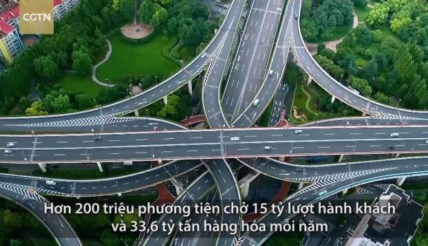 [Video] Những siêu hệ thống đường cao tốc, vận tải đường sắt và đường không của Trung Quốc