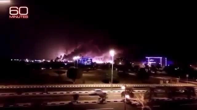 [Video] Hình ảnh ghi lại vụ tấn công nhằm vào cơ sở lọc dầu của Saudi Arabia