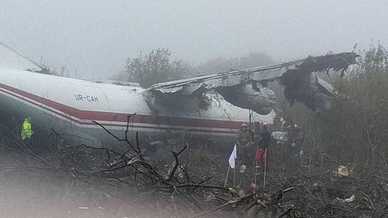 [Infographics] Máy bay An-12 Ukraine hết nhiên liệu buộc phải đáp khẩn cấp làm 5 người chết