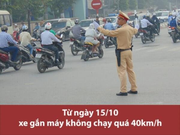 [Video] Hiểu như thế nào về quy định tốc độ xe gắn máy không quá 40km/h?