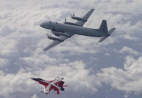 [Ảnh] Khám phá trinh sát cơ khổng lồ IL-20M Nga vừa bị F-16 NATO lao lên chặn