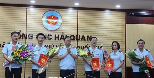 Điều động, bổ nhiệm 5 lãnh đạo cấp Vụ, Cục của Tổng cục Hải quan