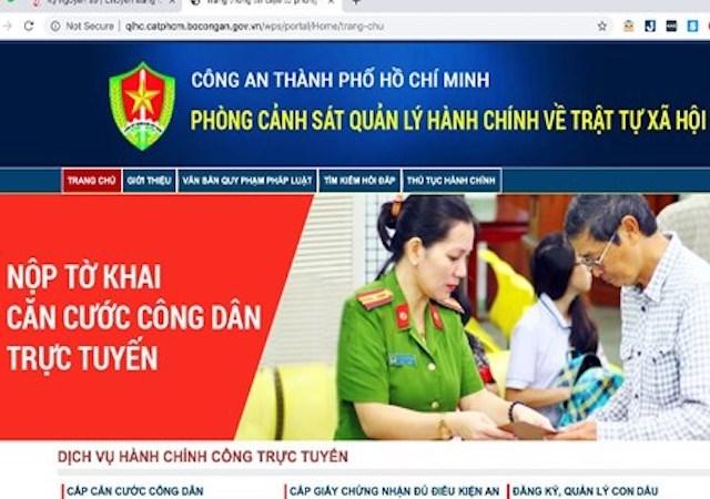 [Video] Công dân có thể đăng ký cấp căn cước công dân trên trang thông tin điện tử dịch vụ công trực tuyến