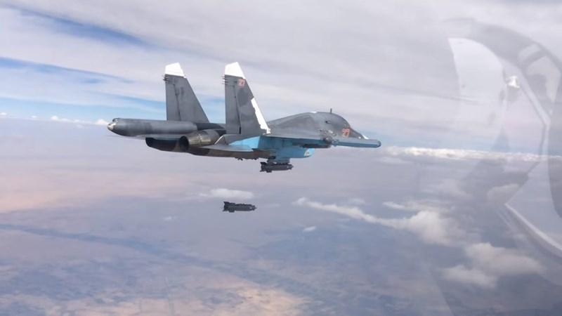 [Ảnh] Không quân Nga - Syria phối hợp