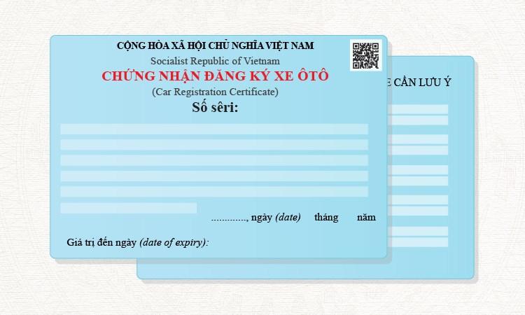 [Infographics] 10 thay đổi trong giấy đăng ký xe ôtô