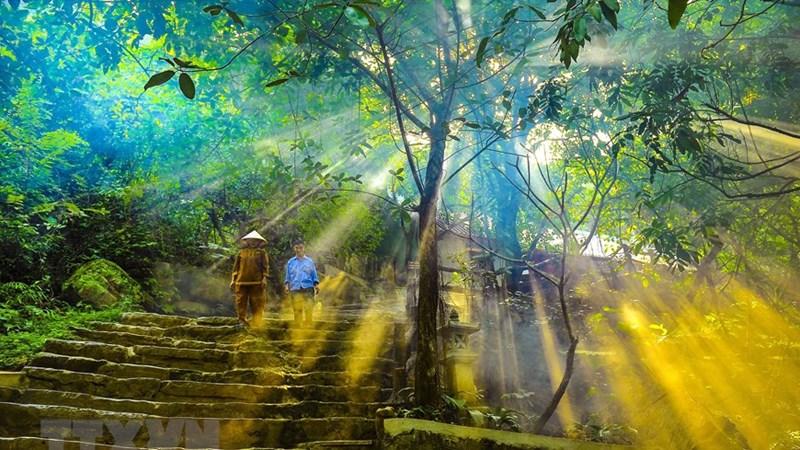 [Ảnh] Ngôi chùa cổ hơn 1.000 năm trên đỉnh núi Bái Đính