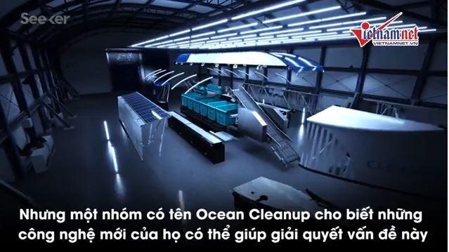 [Video] Công nghệ dọn rác thải mới chuẩn bị được áp dụng ở Việt Nam