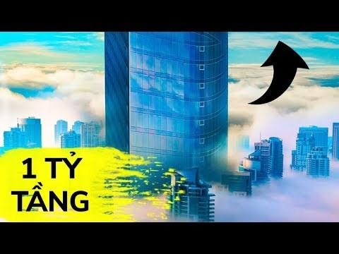 [Video] Có thể xây tòa nhà một tỷ tầng hay không?