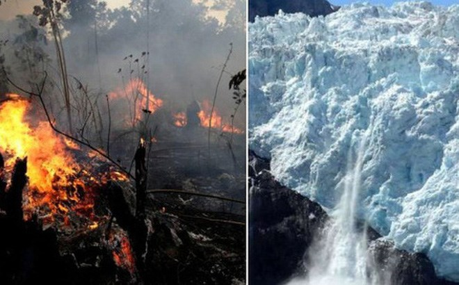 [Video] Hậu quả từ cháy rừng kỷ lục ở Amazon