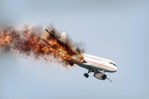 [Video] Thảm kịch máy bay hóa