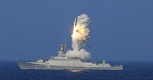 [Video] Chiến hạm Nga bắn tên lửa Kalibr ở Biển Đen